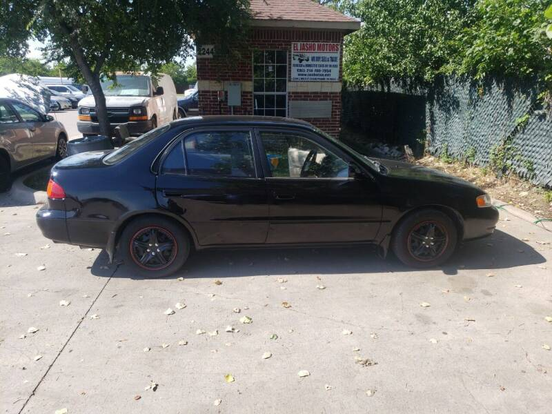1999 Toyota Corolla for sale at El Jasho Motors in Grand Prairie TX