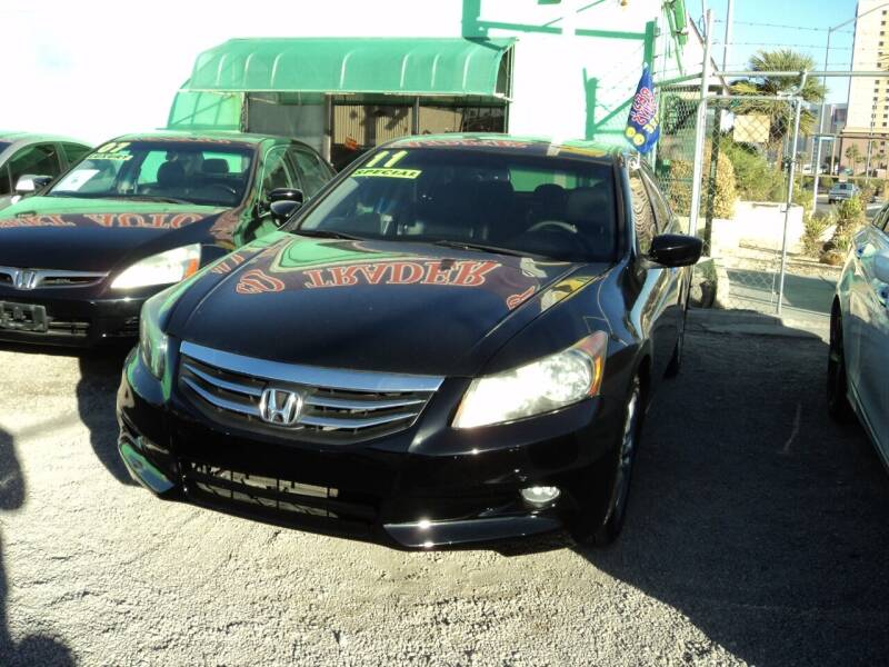2011 Honda Accord for sale at DESERT AUTO TRADER in Las Vegas NV