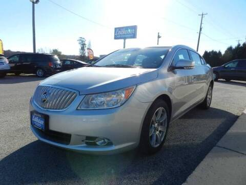 2010 Buick LaCrosse for sale at Leitheiser Car Company in West Bend WI