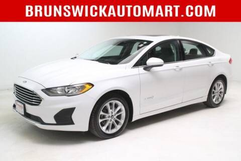 2019 Ford Fusion Hybrid for sale at Brunswick Auto Mart in Brunswick OH