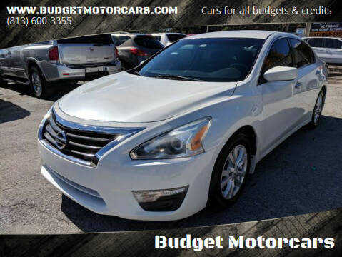 2014 Nissan Altima for sale at Budget Motorcars in Tampa FL