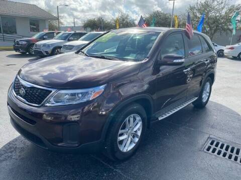 2014 Kia Sorento for sale at Navarro Auto Motors in Hialeah FL