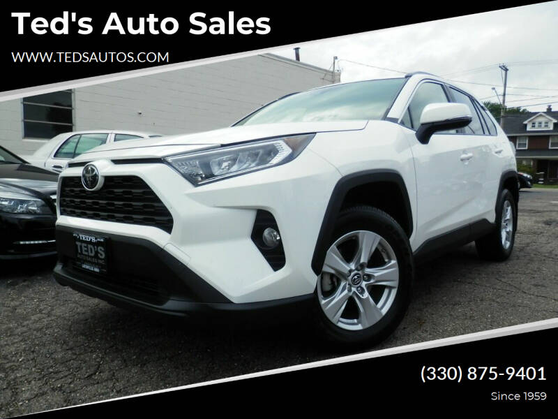 2019 Toyota RAV4 for sale at Ted's Auto Sales in Louisville OH