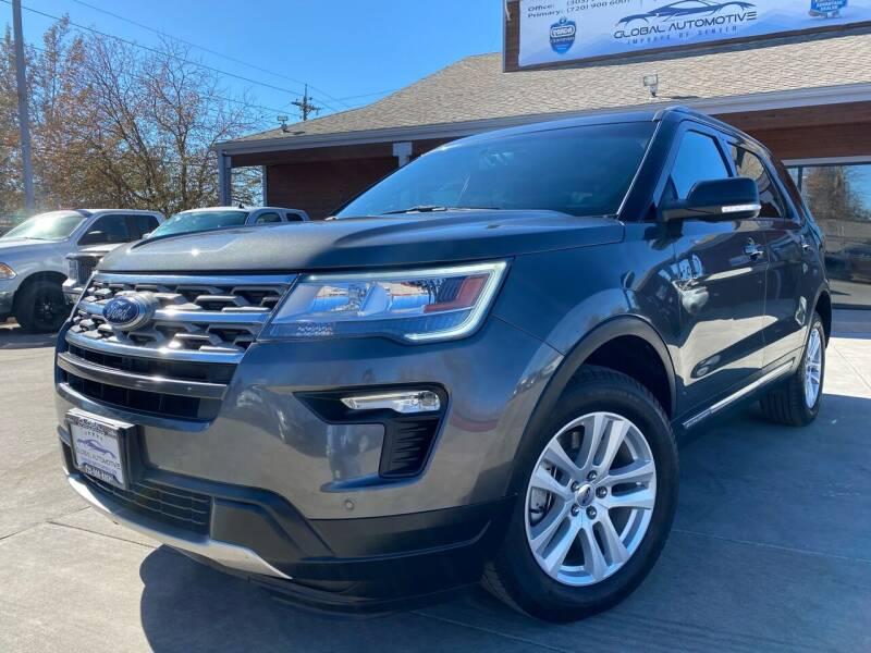 2018 Ford Explorer for sale at Global Automotive Imports of Denver in Denver CO