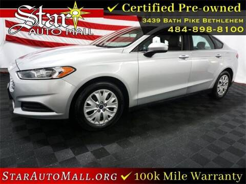 2013 Ford Fusion for sale at STAR AUTO MALL 512 in Bethlehem PA