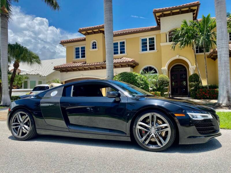 2014 Audi R8 for sale at Lifetime Automotive Group in Pompano Beach FL
