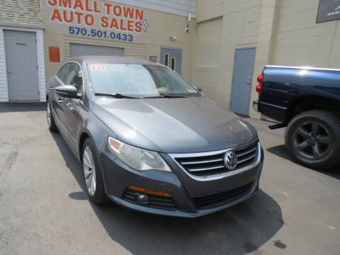 2010 Volkswagen CC for sale at Small Town Auto Sales in Hazleton PA