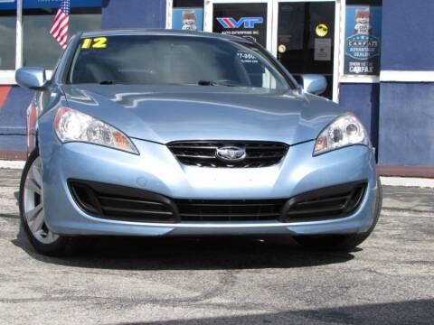 2012 Hyundai Genesis Coupe for sale at VIP AUTO ENTERPRISE INC. in Orlando FL