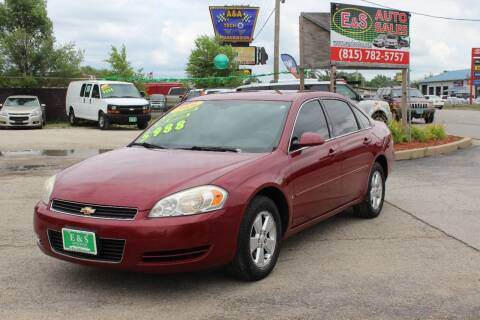 2006 Chevrolet Impala for sale at E & S Auto Sales in Crest Hill IL
