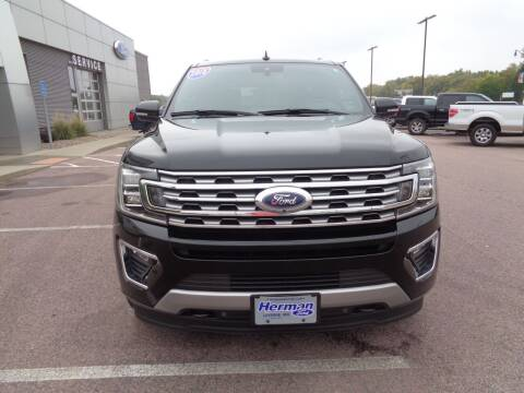 2018 Ford Expedition MAX for sale at Herman Motors in Luverne MN