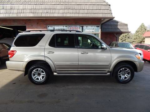 2007 Toyota Sequoia for sale at AUTOWORKS OF OMAHA INC in Omaha NE
