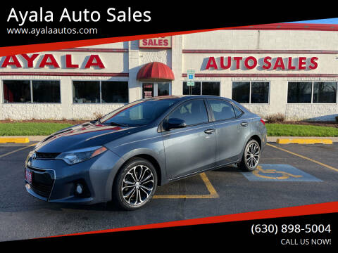 2016 Toyota Corolla for sale at Ayala Auto Sales in Aurora IL