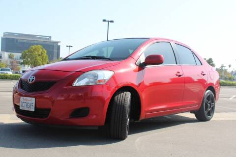 2012 Toyota Yaris for sale at FJ Auto Sales North Hollywood in North Hollywood CA