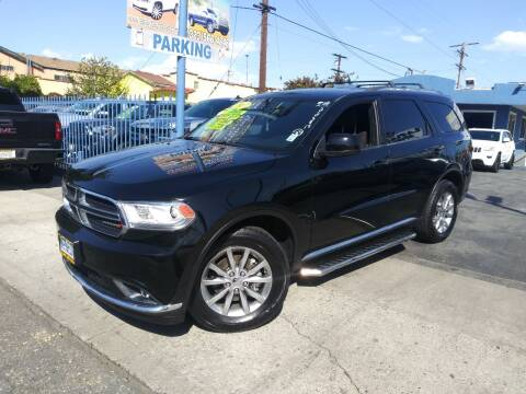 2017 Dodge Durango for sale at LA PLAYITA AUTO SALES INC in South Gate CA