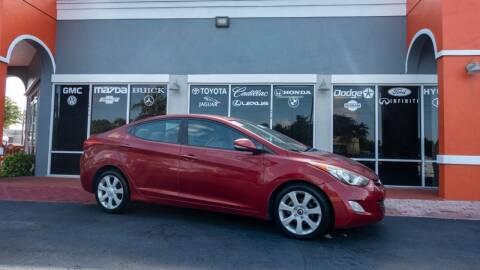 2012 Hyundai Elantra for sale at Car Depot in Miramar FL
