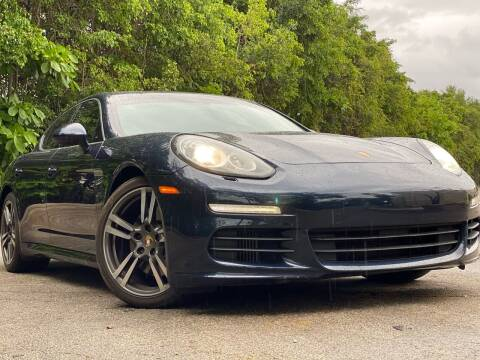 2015 Porsche Panamera for sale at HIGH PERFORMANCE MOTORS in Hollywood FL