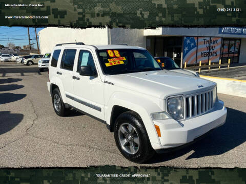 2008 Jeep Liberty for sale at Miracle Motor Cars Inc. in Victorville CA