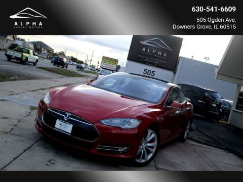 2014 Tesla Model S for sale at Alpha Luxury Motors in Downers Grove IL