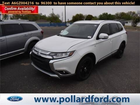 2016 Mitsubishi Outlander for sale at South Plains Autoplex by RANDY BUCHANAN in Lubbock TX