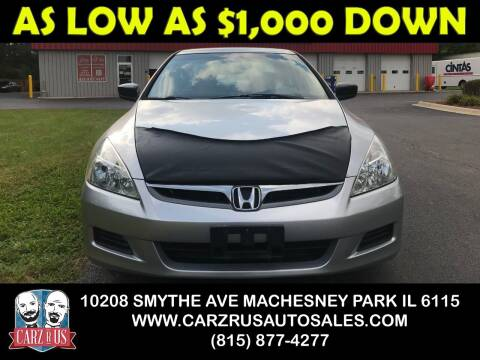 2007 Honda Accord for sale at Carz R Us in Machesney Park IL