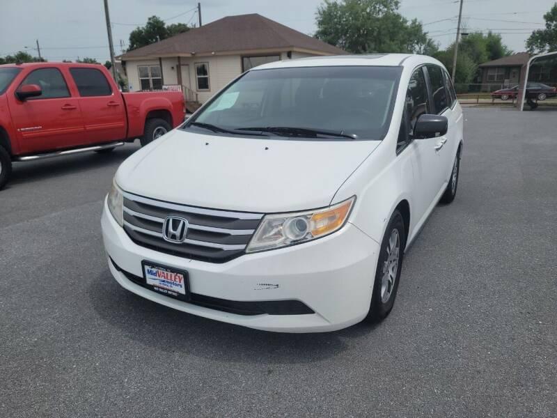 2012 Honda Odyssey for sale at Mid Valley Motors in La Feria TX