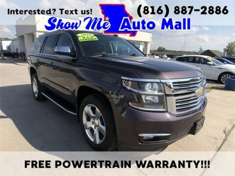 2016 Chevrolet Tahoe for sale at Show Me Auto Mall in Harrisonville MO