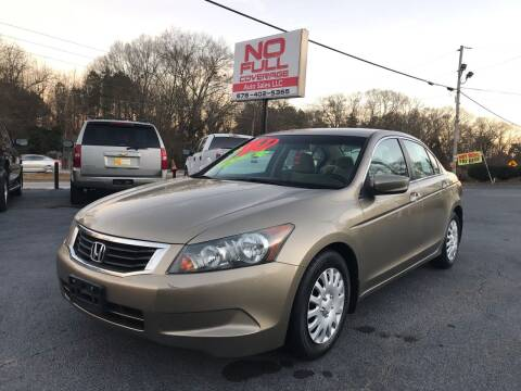 2010 Honda Accord for sale at No Full Coverage Auto Sales in Austell GA