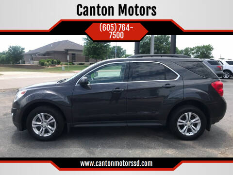 2013 Chevrolet Equinox for sale at Canton Motors in Canton SD