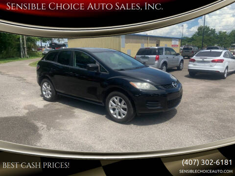 2009 Mazda CX-7 for sale at Sensible Choice Auto Sales, Inc. in Longwood FL