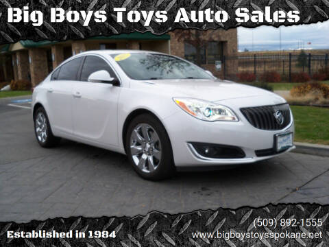 2017 Buick Regal for sale at Big Boys Toys Auto Sales in Spokane Valley WA