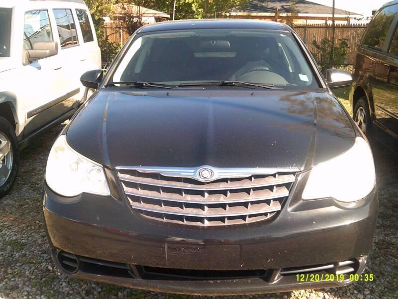 2010 Chrysler Sebring for sale at DONNIE ROCKET USED CARS in Detroit MI
