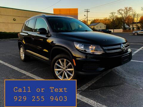 2017 Volkswagen Tiguan for sale at Ultimate Motors in Port Monmouth NJ