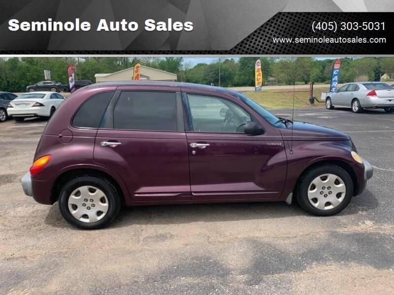2001 Chrysler PT Cruiser for sale at Seminole Auto Sales in Seminole OK