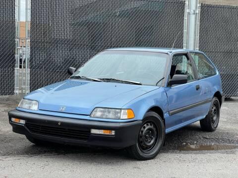 1991 Honda Civic for sale at Illinois Auto Sales in Paterson NJ