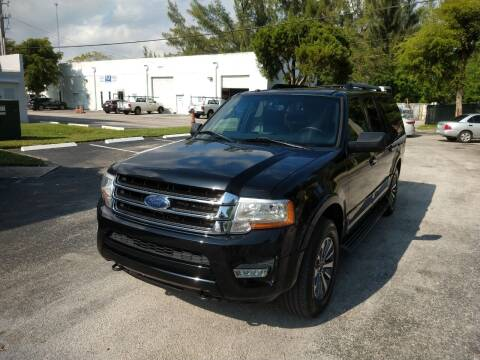 2017 Ford Expedition EL for sale at Best Price Car Dealer in Hallandale Beach FL