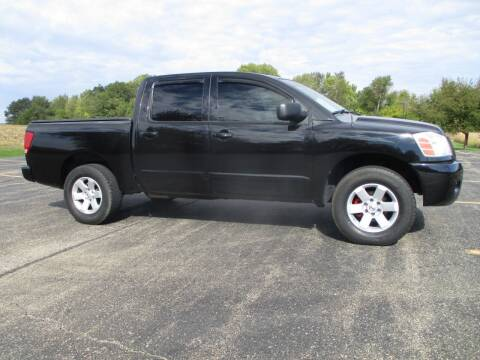2006 Nissan Titan for sale at Crossroads Used Cars Inc. in Tremont IL