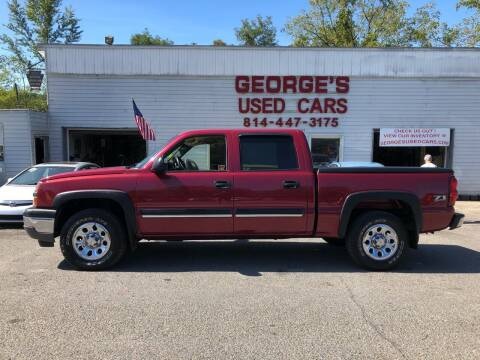 2005 Chevrolet Silverado 1500 for sale at George's Used Cars Inc in Orbisonia PA