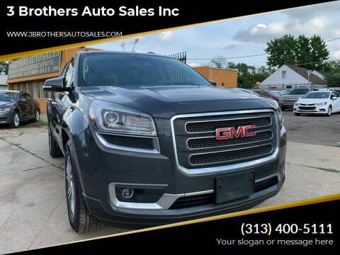 2014 GMC Acadia for sale at 3 Brothers Auto Sales Inc in Detroit MI