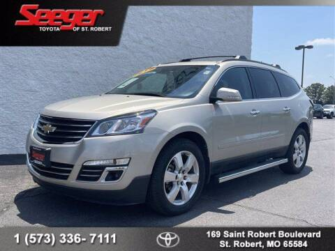2017 Chevrolet Traverse for sale at SEEGER TOYOTA OF ST ROBERT in Saint Robert MO