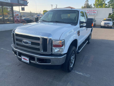 2010 Ford F-250 Super Duty for sale at Adams Auto Sales in Sacramento CA