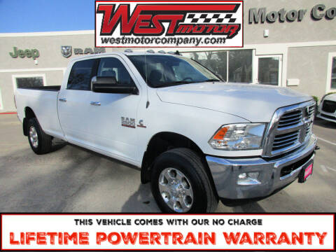 2018 RAM Ram Pickup 2500 for sale at West Motor Company in Hyde Park UT