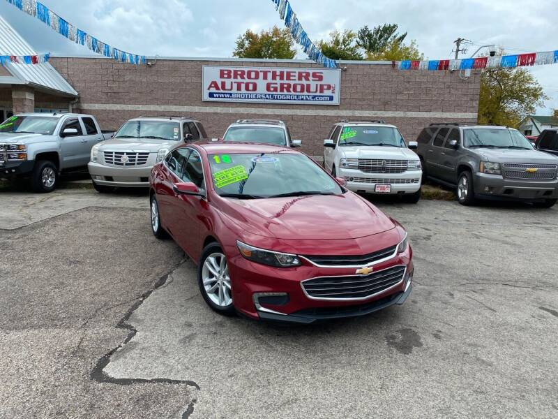 2018 Chevrolet Malibu for sale at Brothers Auto Group in Youngstown OH