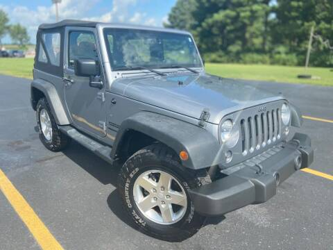 2014 Jeep Wrangler for sale at D3 Auto Sales in Des Arc AR