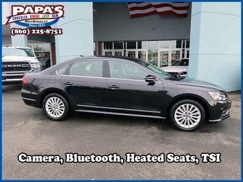 2017 Volkswagen Passat for sale at Papas Chrysler Dodge Jeep Ram in New Britain CT