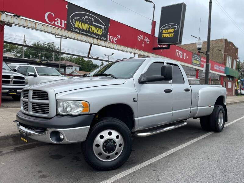 2003 Dodge Ram Pickup 3500 for sale at Manny Trucks in Chicago IL