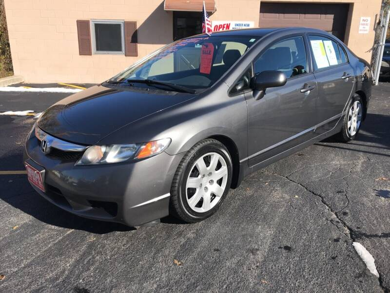 2011 Honda Civic for sale at D'Ambroise Auto Sales in Lowell MA