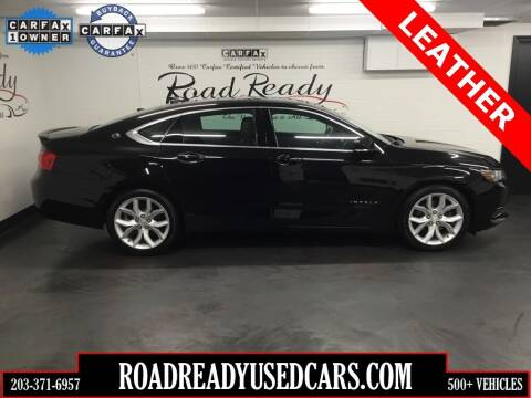 2017 Chevrolet Impala for sale at Road Ready Used Cars in Ansonia CT
