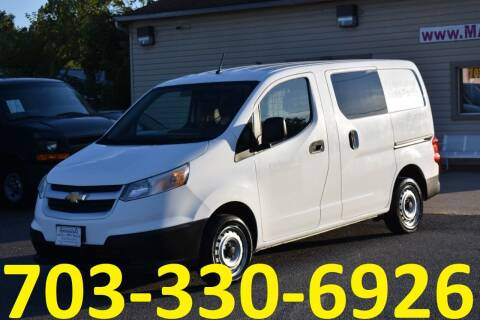 2017 Chevrolet City Express Cargo for sale at MANASSAS AUTO TRUCK in Manassas VA