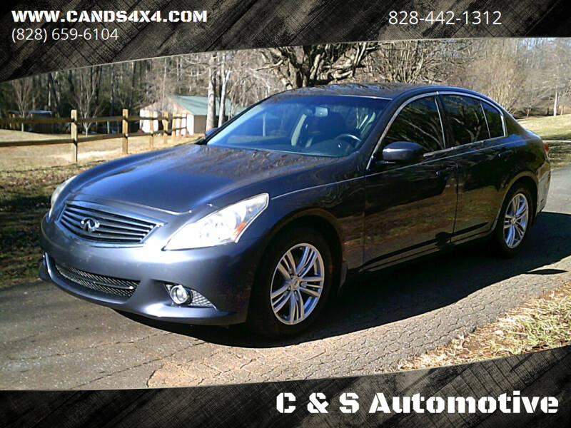 2011 Infiniti G25 Sedan for sale at C & S Automotive in Nebo NC