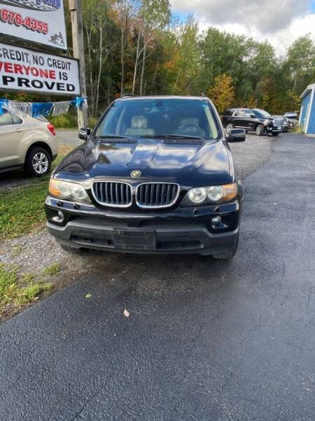 2005 BMW X5 for sale at ROUTE 11 MOTOR SPORTS in Central Square NY